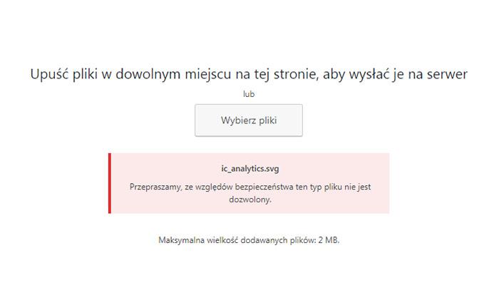 dodanie pliku svg do WordPress
