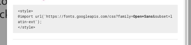 Dodawanie fonta do strony w stylach CSS