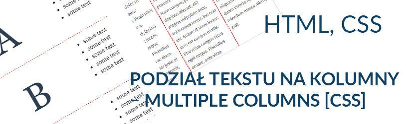 dynamiczny podział tekstu na równe kolumny