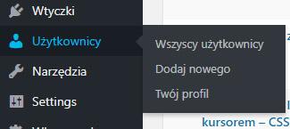 użytkownicy